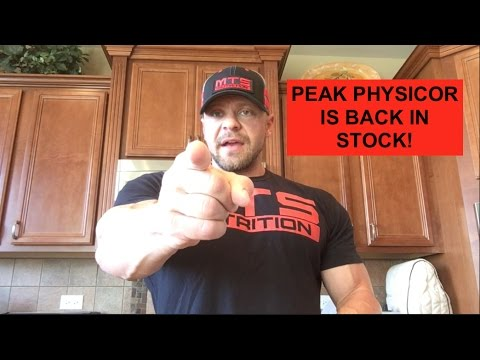 Peak Physicor is BACK in Stock!