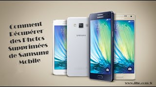 Comment Récupérer des Photos Supprimées de Samsung Mobile