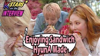 Video [CONTACT INTERVIEW★]HyunA Prepared Sandwich For E'dawn & Hui 20170507 download MP3, 3GP, MP4, WEBM, AVI, FLV Juni 2018