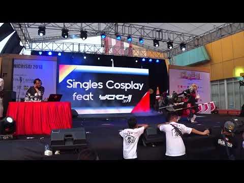 [Ennichisai Blok M, Jakarta] Cosplay Single feat YOCHI MUSIC