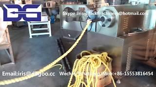 Corn Puff Extruder Machine/Twist Snack Plant/Cereal Extrusion Equipment