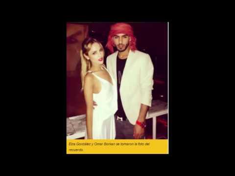 FOTO:  Eiza González con Omar Borkan, el hombre expulsado de Arabia por guapo