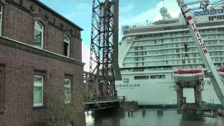 NORWEGIAN BREAKAWAY !  NEW YORK  USA GERMANY UNITED STATES PAPENBURG