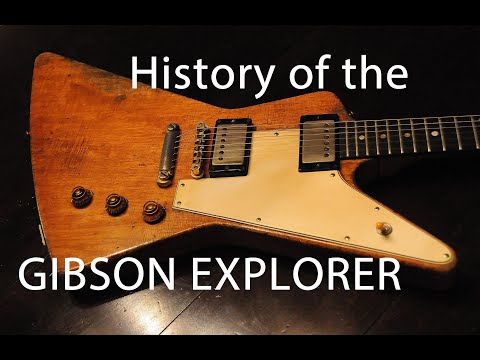 History of the Gibson Explorer (early years)