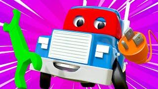 Супер ремонтник - Трансформер Карл в Автомобильный Город 🚚 ⍟ детский мультфильм