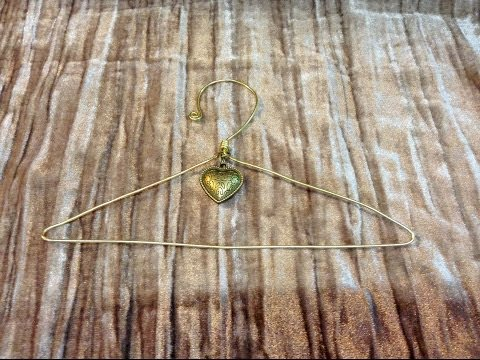 Mini Wire Hangers Tutorial