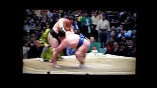 豪栄道vs琴奨菊 平成27年大相撲春場所 Goeido vs Kotoshogiku SUMO.