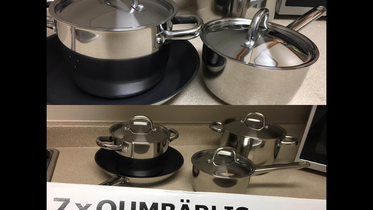 Unboxing Ikea S Kitchen Pots And Pans