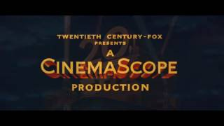 20th Century Fox logo (1953) Low Pitched