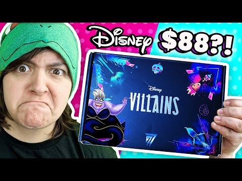 cash-or-trash?-testing-disney-subscription-box-review-unboxing