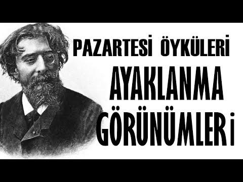 """""""Ayaklanma Görünümleri"""" Pazartesi Öyküleri Alphose Daudet Sesli Kitap Akın ALTAN"""