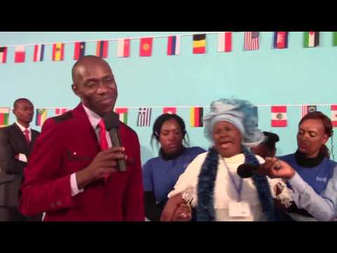General Overseer DR  Charles Takavengwa  Delivering a woman possessed by ancestoral spirits