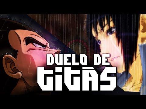 Sasuke Vs Vegeta Duelo De Titãs