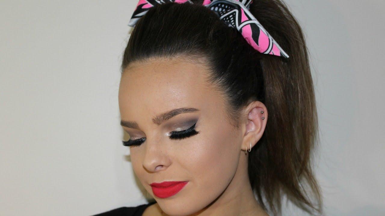 Cheer makeup tutorial part 12 adorethegore youtube cheer makeup tutorial part 12 adorethegore baditri Image collections