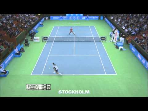 Stockholm 2014 Final Highlights Berdych Dimitrov