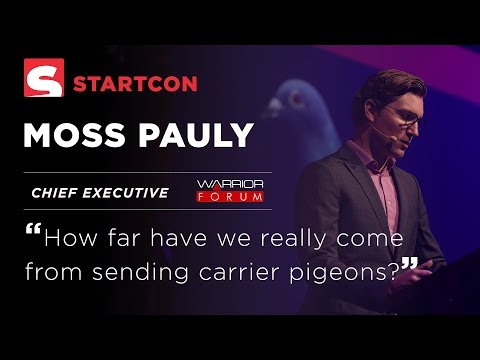 Moss Pauly - How far have we really come from sending carrier pigeons?