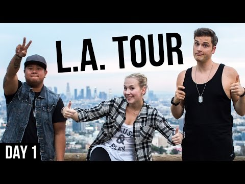 Interview with Lewis Howes in West Hollywood - Video Influencers L.A. Tour Day 1