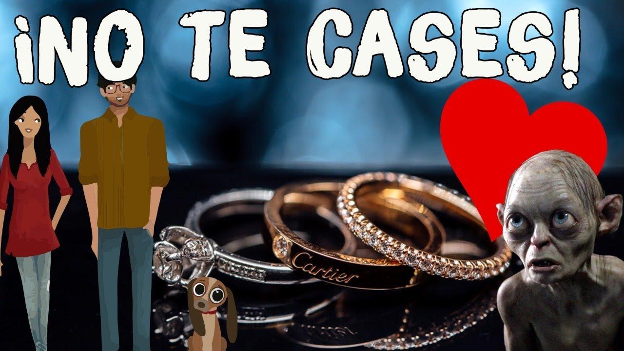 ¡NO TE CASES! Los secretos del anillo de compromiso