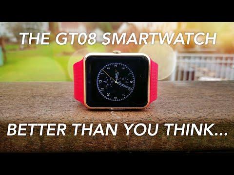 $15 GT08 SmartWatch Review (4K)