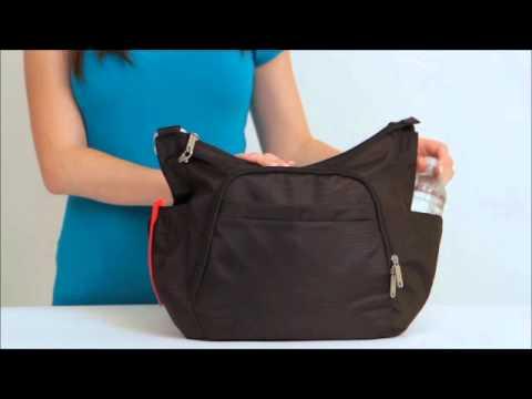 Travelon Anti Theft Cross Body Bucket Bag