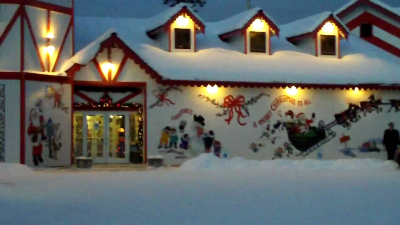 santa claus house north pole alaska zi6 0039 youtube - Santa And The North Pole