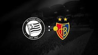 Spielaufzeichnung: Sturm Graz 4:2. FC Basel (3:2)