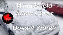 BriteNway Windshield Snow Cover - Does it work?