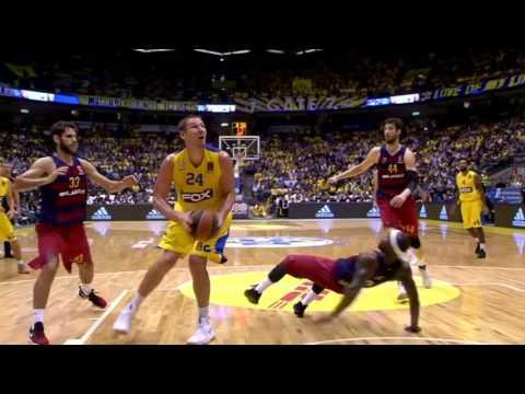 Highlights:  Maccabi FOX Tel Aviv - FC Barcelona Lassa 69:79