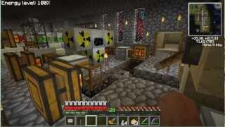 Minecraft IC2 Завод материи на Ядерных реакторах.