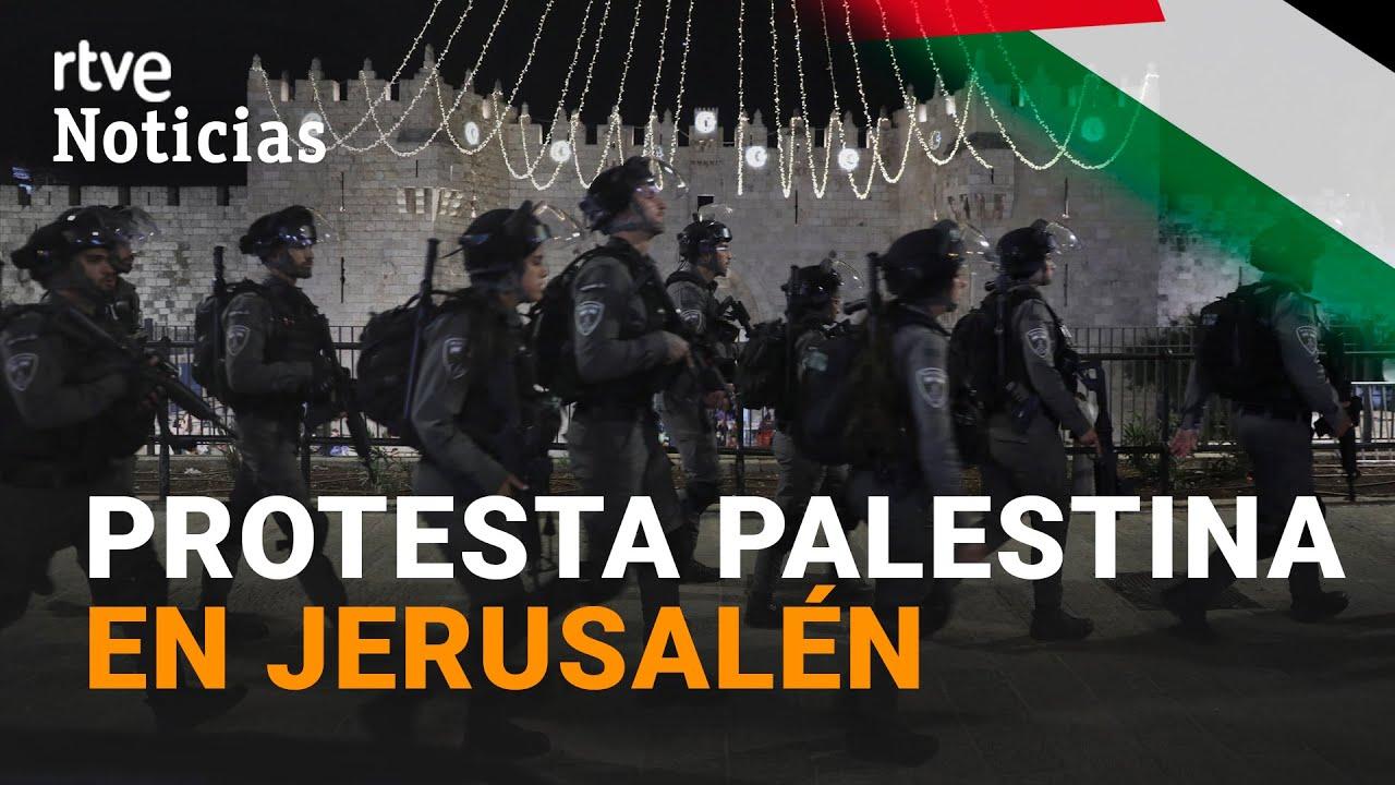 Cientos de HERIDOS en choques entre PALESTINOS e ISRAELÍES en la Explanada de las Mezquitas I RTVE