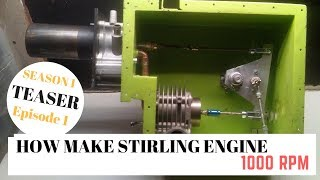 [ TUTO N°1 ] COMMENT CONSTRUIRE UN MOTEUR STIRLING / HOW TO MAKE STIRLING ENGINE ( Saison 1 Ep1 )🏆