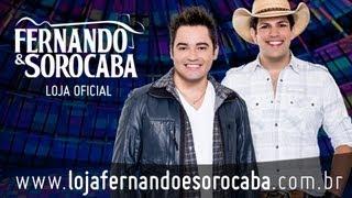 Fernando & Sorocaba lançam sua Loja Virtual