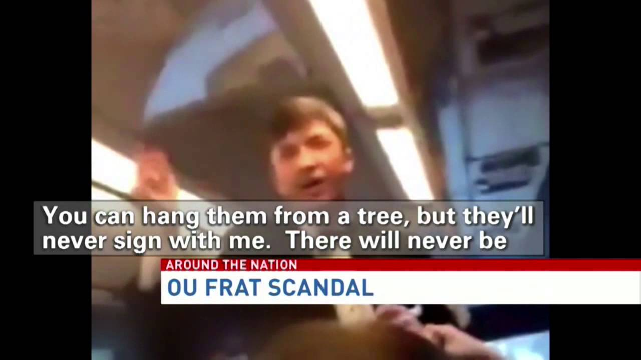 Frat Member in Racist Chant Video Speaks Out: It Was Likely Fueled by Alcohol picture