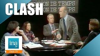 Clash en direct entre André Glucksmann et René Andrieu | Archive INA