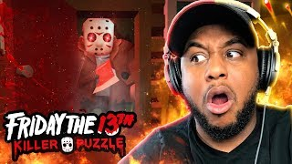 JASON IS COMING FOR YOU!!   Friday The 13th: Killer Puzzle