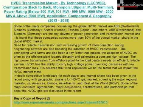 2018 HVDC Transmission Market Alternative Strategies