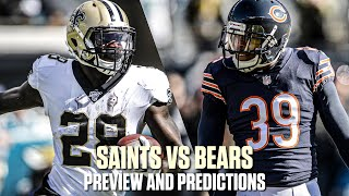 New Orleans Saints VS Chicago Bears | Week 7 Preview & Predictions