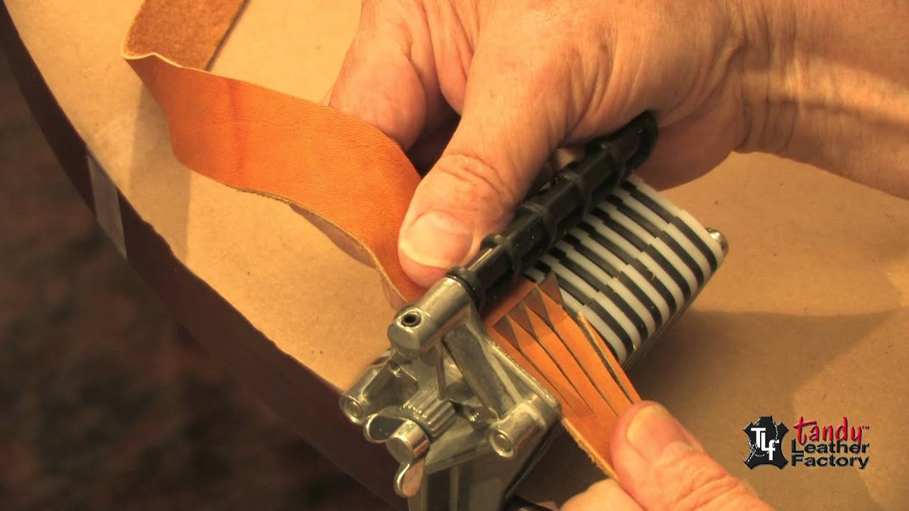 Tandy leather strip and strap cutter