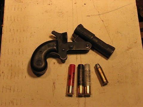 .45/.410 Pistol Penetration Test