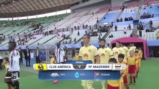 Club America v TP Mazembe | FIFA Club World Cup Japan 2015 | Match Highlights