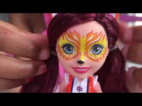 Baby Doll Play Surprise Toys - Enchantimals Dolls Toy Haul and Animal Friends