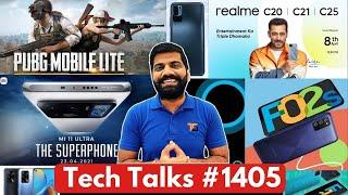 Tech Talks # 1405-PUBG Mobile GameOver, Mi 11 Ultra India, Realme C25 India, 만우절 장난, F12