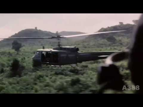 "UH-1 ""Huey"" Helicopter in Vietnam - Rolling Stones ""Gimme Shelter"" HD"