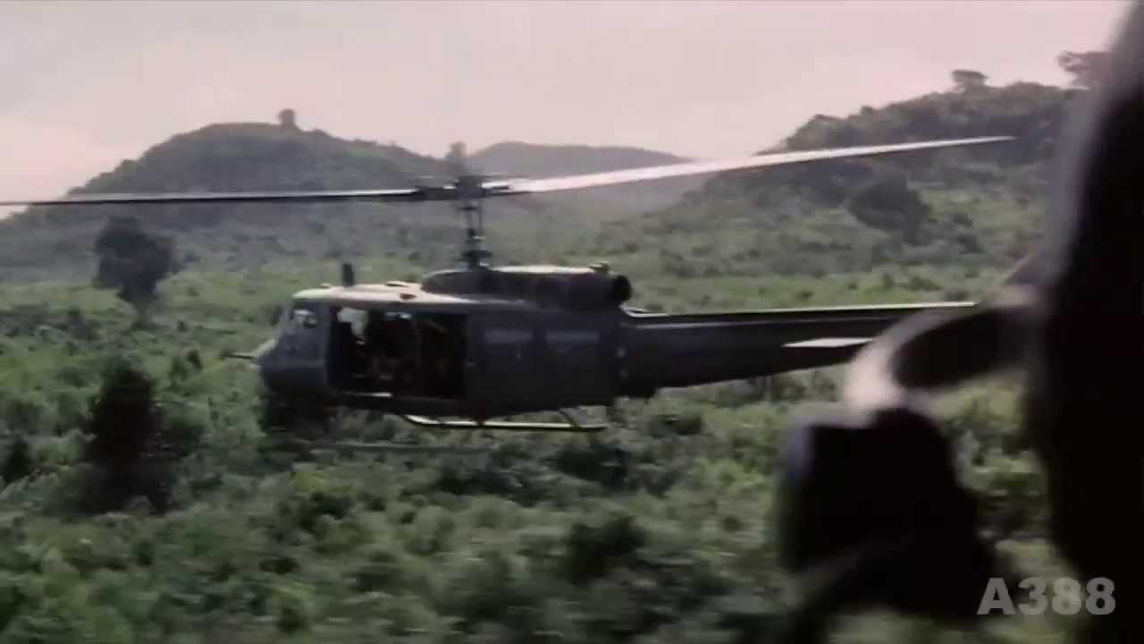 "Huey Helicopter For Sale >> UH-1 ""Huey"" Helicopter in Vietnam - Rolling Stones ""Gimme Shelter"" HD - YouTube"