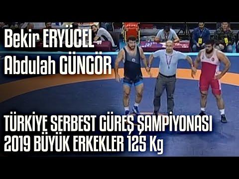 Türkiye Serbest Güreş Şampiyonası 2019 Büyük Erkekler 3.lük | Bekir Eryücel - Abdullah Güngör