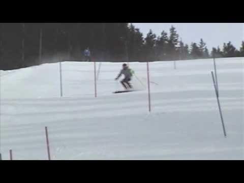 Rob Greig Slalom Training