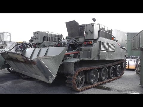 Witham Military Tender Auction - Surplus Tanks AFVs Trucks Landrovers October 2012