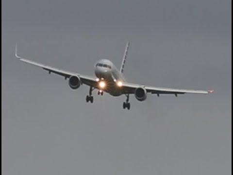 Storm! Dangerous Approaches l Difficult Crosswind landings @ Schiphol Airport! STORM FIONN !