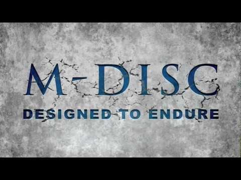 M-DISC: Designed To Endure