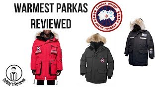 An Overview of the Warmest Parkas in the world--Canada Goose